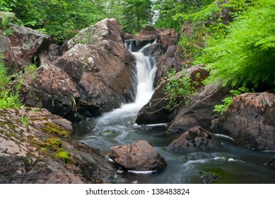 Remote Northern Michigan Waterfalls known as Ely Falls