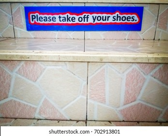 remove the shoes