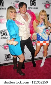 Rena Riffel with Bobby Trendy and Lorielle New at the Anna Nicole Smith Tribute Event. HERE Lounge, West Hollywood, CA. 04-24-07