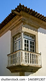 Renaissance balcony in Vila do Conde, Portugal