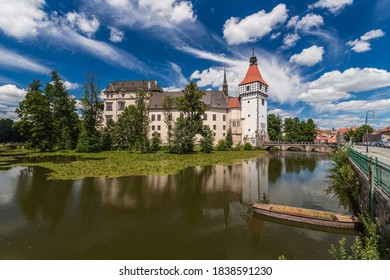 Renaissance chateau Blatna near Strakonice in southern Bohemia, Czech Republic - Shutterstock ID 1838591230