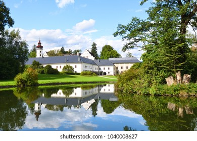 Renaissance chateau of Velke Losiny in Czech Republic