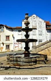 Renaissance fountain in Santa Maria da feira, Portugal