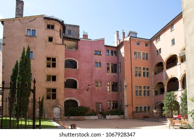 Renaissance houses in Lyon, France