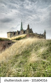 Renaissance Kronborg castle in Helsingor, Denmark.