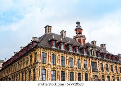 Renaissance stock exchange in Lille, France