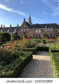 Renaissance-style garden in Groningen The Netherlands
