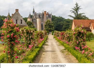 Renascence castle in Lassay-sur-Croisne, Loire Valley, France