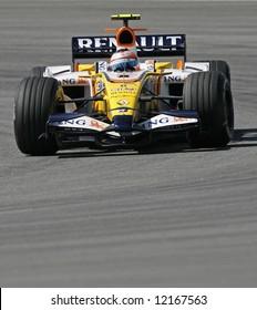 Renault's Brazilian F1 driver Nelson Piquet