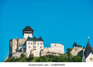 rencin Castle (Trenciansky Hrad) - on the hill in center of the city Trencin