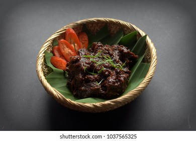 Rendang - South East Asia famous food during celebration