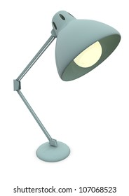 Render of a lamp