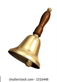 Rendered school bell
