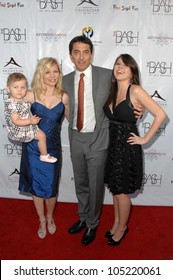 Renee Sloan with Scott Baio and family at 'The Bash' a Benefit for Children's Hospital Los Angeles. Crustacean, Beverly Hills, CA. 05-17-09