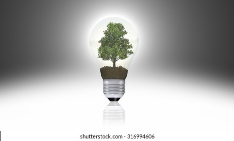 renewable energy concept, green energy symbol