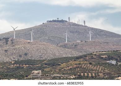 Renewable Energy Concept Windmil Farm