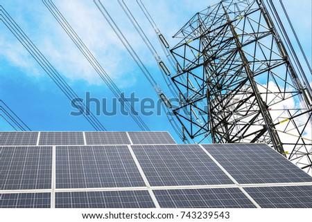 Renewable Energy Necessity Future World Golden Light Stock Photo