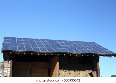 renewable energy on top of a roof
