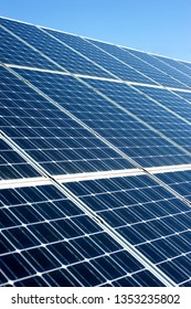 renewable energy with photovoltaic panels