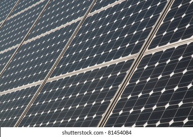 Renewable energy: solar panels. A solar panel (photovoltaic module or photovoltaic panel) is a packaged interconnected assembly of solar cells, also known as photovoltaic cells.