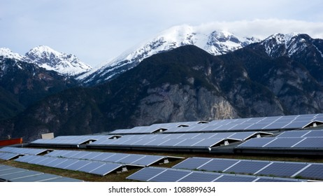Renewable Energy Usage in The Alps in Tyrol , Austria