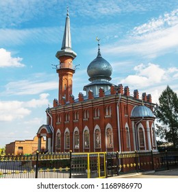 Renewed Cathedral mosque in Nizhny Novgorod, Russia