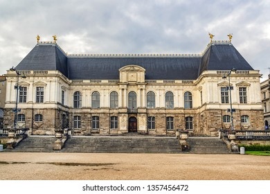 Rennes Parliament of Brittany - major architectural work of seventeenth century. Rennes - capital of region of Brittany, as well as the Ille-et-Vilaine department. France.