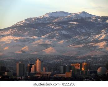 Reno, Nevada, skyline