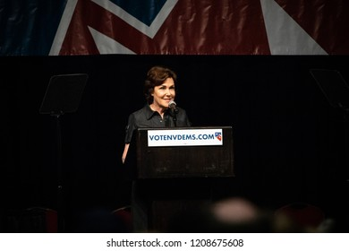 Reno, NV - June 23, 2018 - Jacky Rosen Smiling At Nevada State Democratic Convention