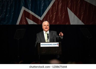 Reno, NV - June 23, 2018 - Steve Sisolak Nevada Pointing At State Democratic Convention