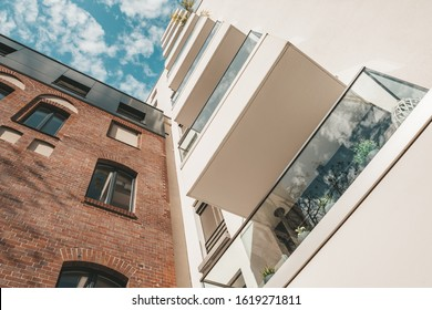 renovated apartment houses in central berlin