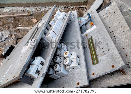 Wondrous Renovation Apartment Building Fuse Box Be Stock Photo Edit Now Wiring Cloud Hisonuggs Outletorg
