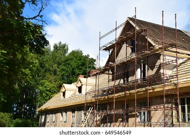 The renovation of a house.