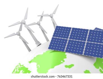 Renowable Energy - 3D
