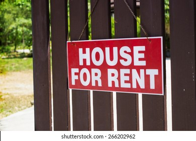 Rent or rental house of property declare