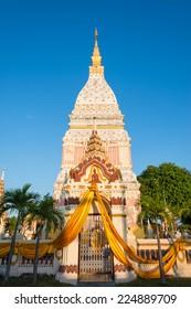 Renunakhon Temple in Nakhonphanom,Thailand