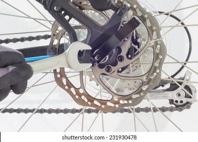 repair a bicycle