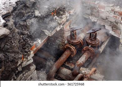Array - burst pipe images stock photos  u0026 vectors   shutterstock  rh   shutterstock com