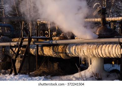 Broken Pipeline Images, Stock Photos & Vectors | Shutterstock