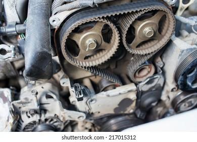 repair car of timing belt