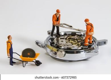 Repair clock