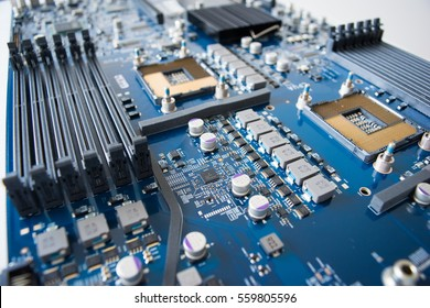 Repair of electronic devices, CPU and RAM sockets on motherboard, Apple Server Maintenance Kits and parts.