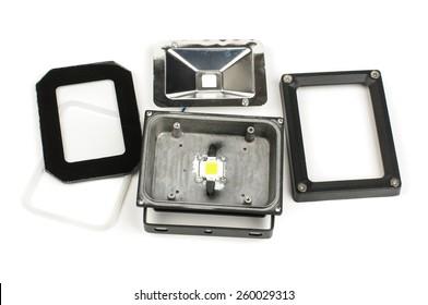 Repair of LED lamp fixture