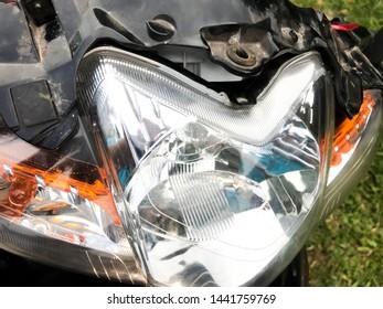 Broken Headlight Images, Stock Photos & Vectors | Shutterstock