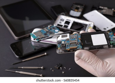 Repair tablet and smart-phone