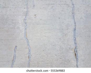 repaired cracks in cement