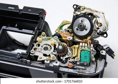 Repairing old film camera mechanisms