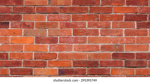 Repeating red brick wall texture typically found in developed areas, often around the back of buildings in cities. The file is a loop ready seamless texture file, allowing the picture to be tiled.