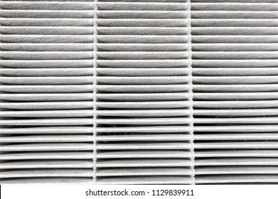 Replaceable air purifier filter - filtration concept
