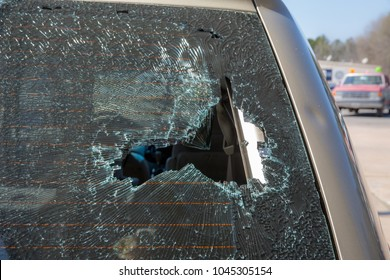 replacing auto glass windscreen windshield wrecked hail storm damage